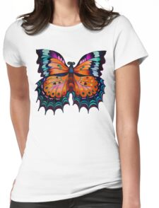 """Beauty of Butterfly"" Womens Fitted T-Shirt"