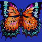 """""""Beauty of Butterfly"""" by Tatyana Binovskaya"""