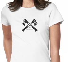 Axe Me Anything Womens Fitted T-Shirt