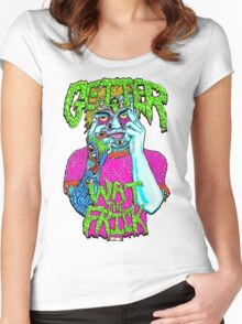 Getter- Wat the Frick  Women's Fitted Scoop T-Shirt