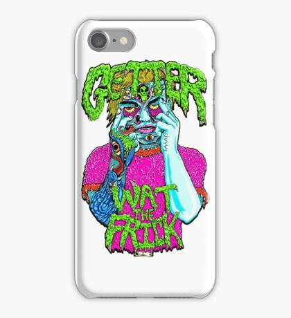 Getter- Wat the Frick  iPhone Case/Skin