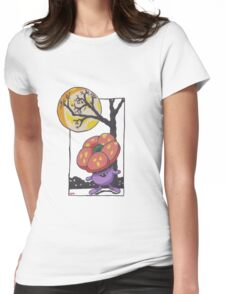 Very Vile Halloween Womens Fitted T-Shirt