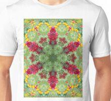 Flowery Mandala Unisex T-Shirt