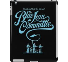 BLUE JEAN COMMMITTEE iPad Case/Skin