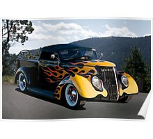 1937 Ford 'Fifties Style' Pickup  Poster
