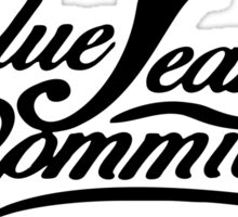 BLUE JEAN COMMMITTEE Sticker