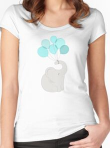 cheers, elephant Women's Fitted Scoop T-Shirt