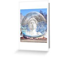 Globe Ruler Greeting Card