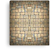 'Nother Brick in the Wall Canvas Print