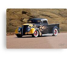 1937 Ford Pickup 'Truck'n Fifties Style' Metal Print