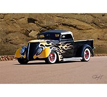 1937 Ford Pickup 'Truck'n Fifties Style' Photographic Print