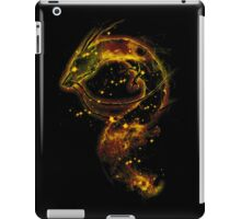 haku nebula -orange version iPad Case/Skin