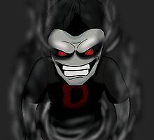 Chibi Dead's Dark by mrbuckalew