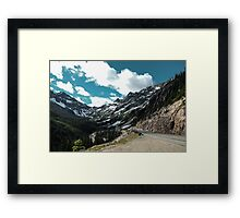 Go Forth and Go North Framed Print