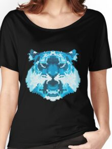 blue tiger Women's Relaxed Fit T-Shirt