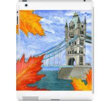 Autumn in London iPad Case/Skin