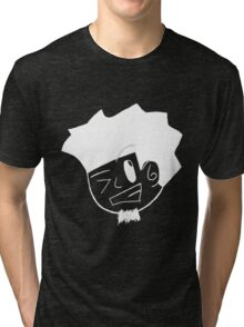 Kid Kuro (white) Tri-blend T-Shirt