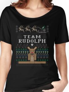 Rudolph Ugly Christmas Women's Relaxed Fit T-Shirt