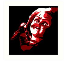 Chucky - Vector Art Print