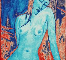 Blue Nude III by Igor Shrayer