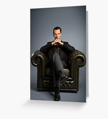 Benedict Cumberbatch - Sherlock Greeting Card