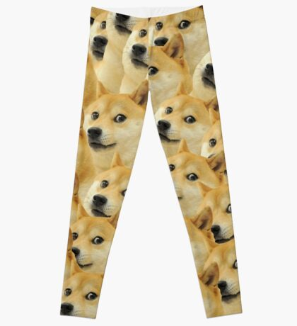 Doge meme Leggings