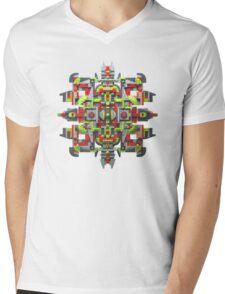 Steampunk Snowflake Mens V-Neck T-Shirt