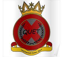 Quet Crest Poster