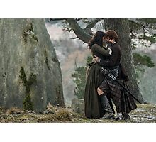 Jamie & Claire - Parting at Craig Na Dun Photographic Print