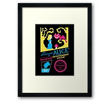 The Adventures of Alice Framed Print