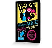 The Adventures of Alice Greeting Card