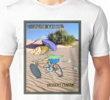 BICYCLE RACING; Yibbitzville Dessert Classic Print Unisex T-Shirt