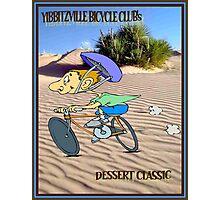 BICYCLE RACING; Yibbitzville Dessert Classic Print Photographic Print
