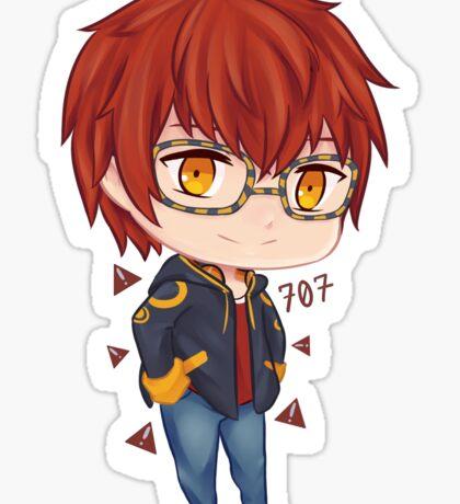 Mystic Messenger 707 Chibi Sticker