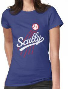vin scully logo Womens Fitted T-Shirt