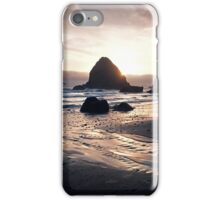 Pacific Coast Sunset in Oregon iPhone Case/Skin