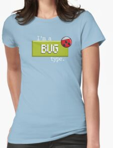 Bug Type - PKMN Womens Fitted T-Shirt