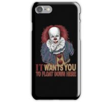 Float Down Here iPhone Case/Skin