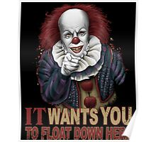 Float Down Here Poster