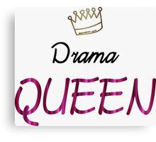 Drama Queen Canvas Print