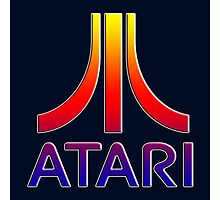 Atari Logo T shirt Photographic Print