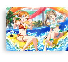 Swimsuit Honoka Kosaka (Idolized) Canvas Print