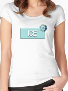 Ice Type - PKMN Women's Fitted Scoop T-Shirt