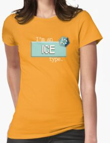 Ice Type - PKMN Womens Fitted T-Shirt