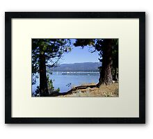 Lake Tahoe In The Morning Framed Print