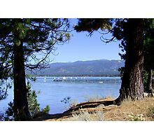 Lake Tahoe In The Morning Photographic Print