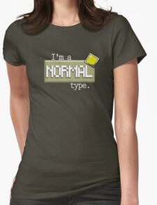 Normal Type - PKMN Womens Fitted T-Shirt