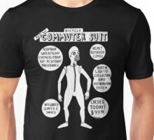 Bicycle Commuter Suit Unisex T-Shirt