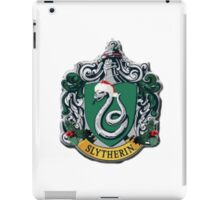 slytherin Christmas card iPad Case/Skin