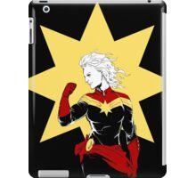 Captain Marvel iPad Case/Skin